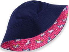 Hatley kétoldalas lány kalap, 69 - 74, rózsaszín