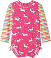 Hatley lány úszóoverál, 69 - 74, rózsaszín