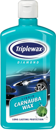 CarPlan Triplewax Diamond Liquid Carnauba vosek, 500 ml