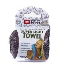 N-Rit Super ľahký uterák Purpurový L