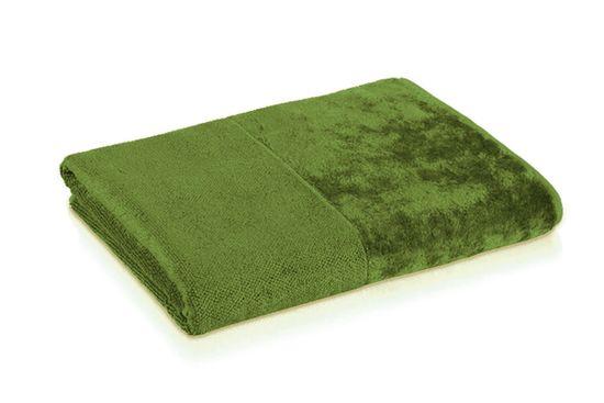 Möve Bambusova brisača 30x30 cm zelena