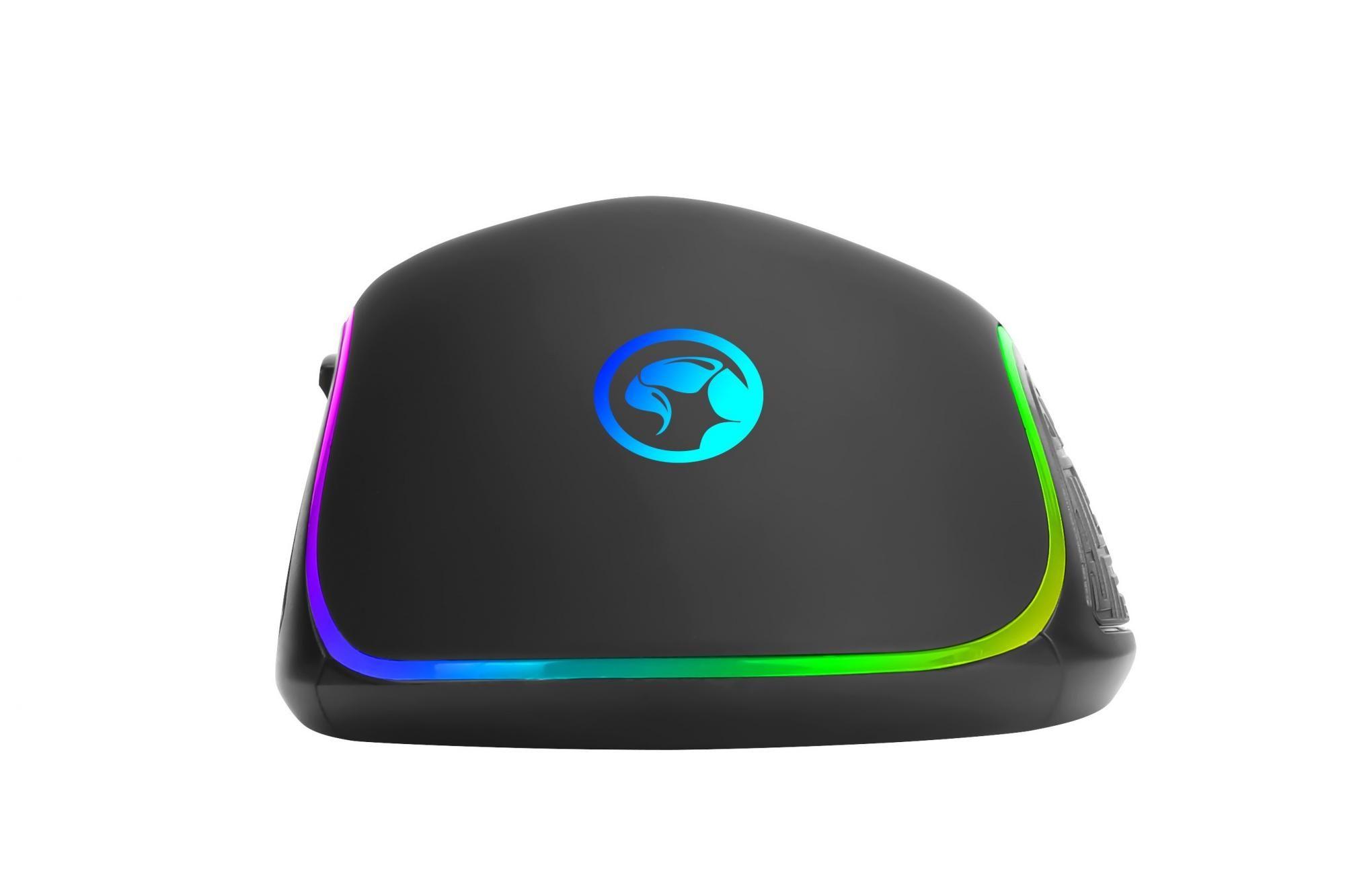 Marvo M513, černá (M513) software 7 naprogramovatelných tlačítek 500-5400 DPI 800-4800 DPI 1,6 m USB