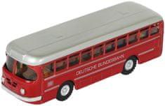 KOVAP Autobus Deutsche Bundesbahn kov 19cm červený v krabičce Kovap