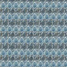 DEVON & DEVON Tapeta ARABESQ BLUE, kolekce NINA FAHRRE
