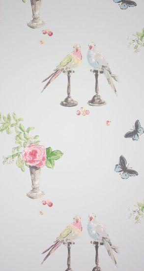 NINA CAMPBELL Tapeta Perroquet 01 z kolekcie Perroquet