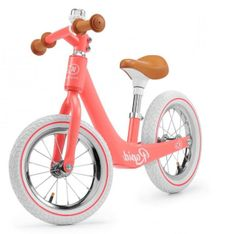 KinderKraft poganjalček Balance bike RAPID, Magic Coral
