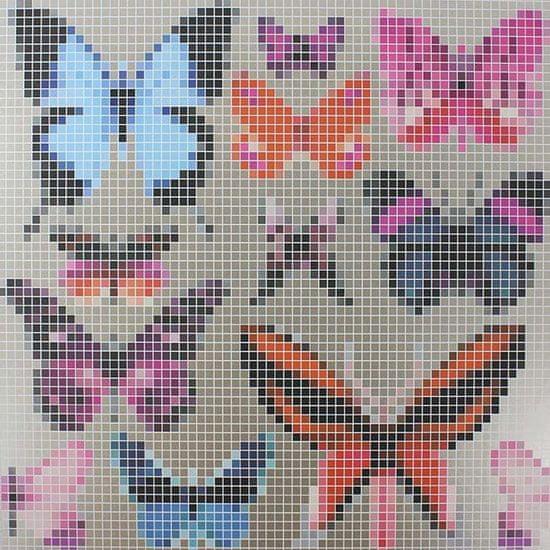 OSBORNE & LITTLE Ozadje BUTTERFLY HOUSE 01 iz kolekcije VERDANTA