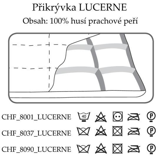 Ch. Fischbacher Celoroční přikrývka LUCERNE 140 x 200 cm v bavlně
