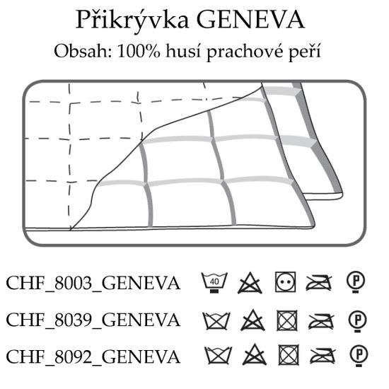 Ch. Fischbacher Egész éves takaró GENEVA 140 x 200 cm dupla selyemből
