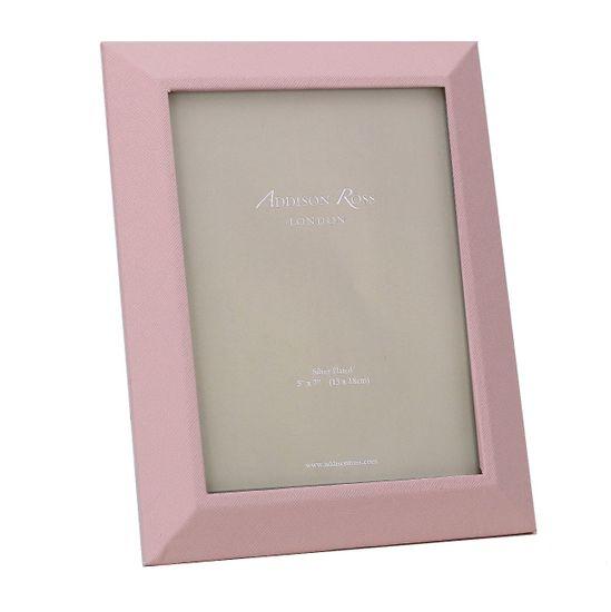 Adisson Ross Różowa ramka na zdjęcia Faux 13 x 18 cm