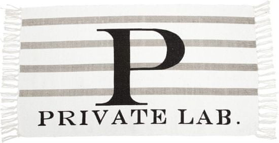 "Lene Bjerre Bavlnený koberec ""PRIVATE LAB"", 90 x 50 cm"