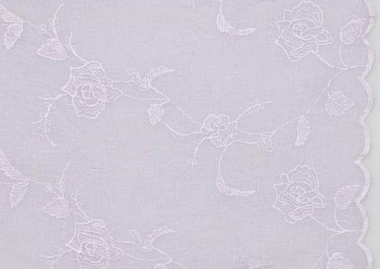 Lene Bjerre Obrus haftowany FRIDA, fioletowy, 180 x 320 cm