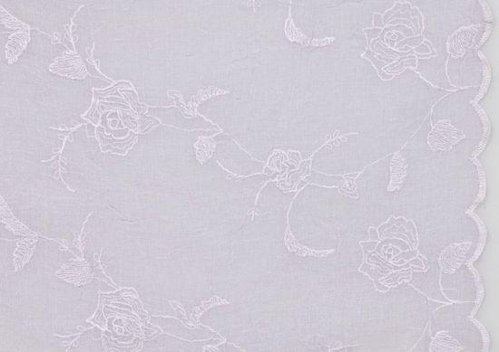 Lene Bjerre Obrus haftowany FRIDA fioletowy, 180 x 220 cm