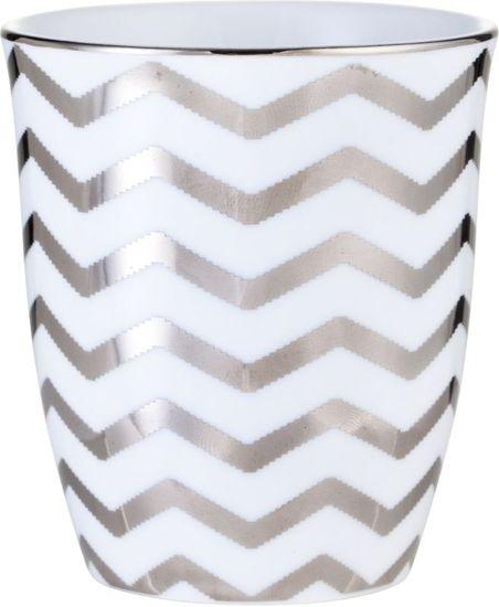 Lene Bjerre Porcelán csésze ezüst ADRIENNE motívummal