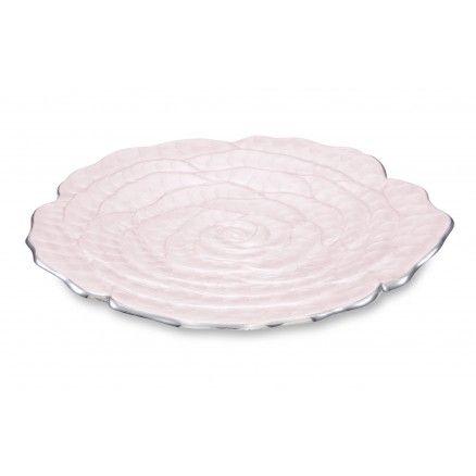 Julia Knight ROSE tálaló tányér, világos rózsaszín