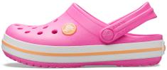 Crocs Crocband Clog K Electric Pink/Cantaloupe 204537-6QZ-J2, 33-34, rózsaszín