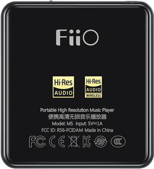 Fiio M5 - zánovní