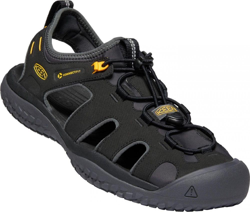 KEEN pánske sandále Solr Sandal M (10012302KEN.01) 45 čierna