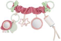 Canpol babies Felfüggeszthető játék Pastel frieds a babakocsira/autósülésre, rózsaszín