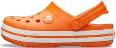 Crocs Crocband Clog K Orange 204537-810-C8, 24-25, narancssárga