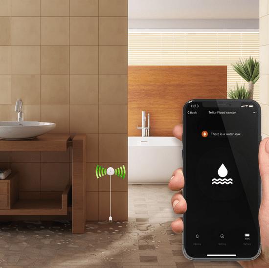 Tellur Wifi pametni senzor za razlitje vode
