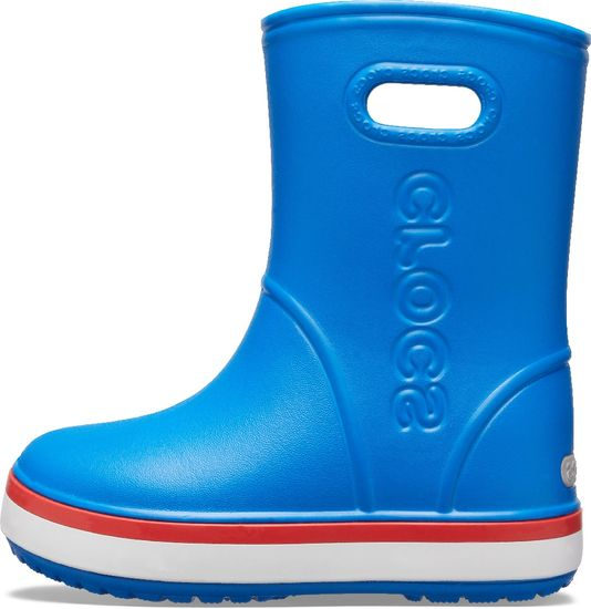 Crocs Crocband Rain Boot K Bright Cobalt/Flame 205827-4KD