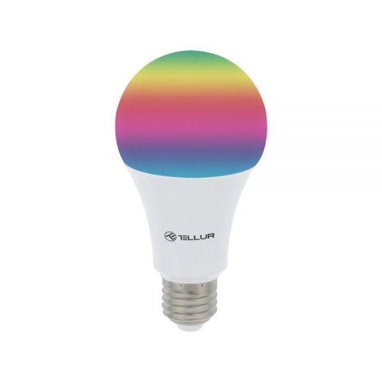 Tellur Wi-Fi pametna žarnica, E27, 10 W, bela, RGB