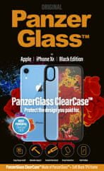 PanzerGlass ClearCase ovitek za Apple iPhone Xr Black Edition 0220