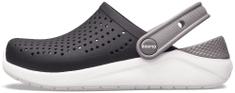 Crocs LiteRide Clog K Black/White 205964-066-C13, 30-31, szürke