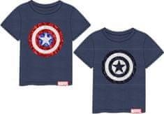 Disney chlapecké tričko Avengers 128 modrá