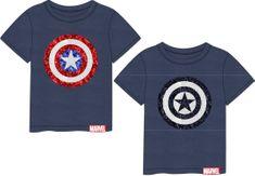Disney chlapecké tričko Avengers 140 modrá