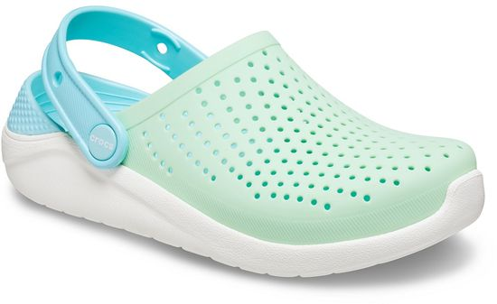 Crocs LiteRide Clog K Neo Mint/White 205964-3TM