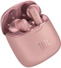 JBL Tune 220TWS brezžične Bluetooth slušalke, rozne