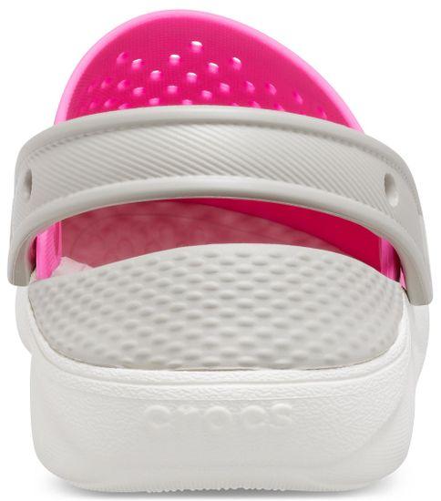Crocs dekliški natikači LiteRide Clog K 205964-6QR