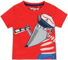 Boboli Chlapecké tričko krátký rukáv 68 červená