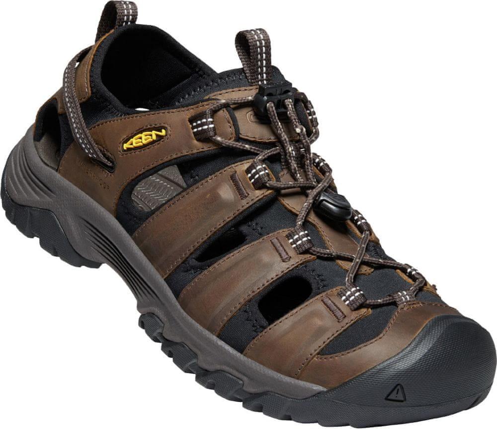 KEEN pánske sandále Targhee III Sandal (10012236KEN.01) 42,5 hnedá