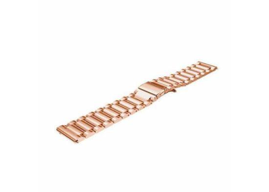Symfony Náramek pro chytré hodinky 22 mm, kov růžovozlatá