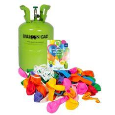 HELIUM DO BALÓNKŮ BALLOONGAZ - jednorázová nádoba 250 l + 30 latexových balónků