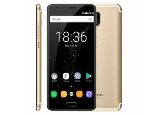 Oukitel K8000 zlatý AMOLED LCD 4/64GB LTE 8000mAh baterie
