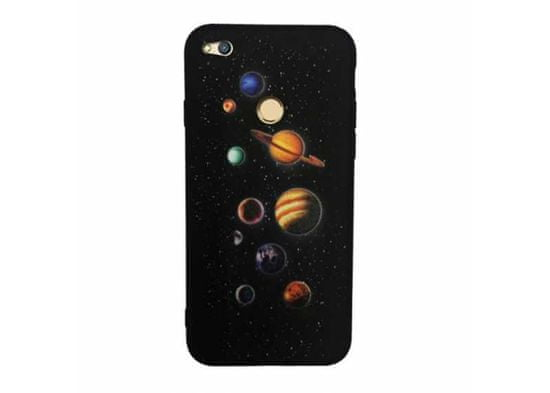 Symfony Pouzdro pro Huawei Honor 9 Lite, silikon planety