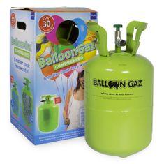 HELIUM DO BALONKŮ - BALLOONGAZ JEDN. NÁDOBA 0,25m3 BEZ balónků,země původu EU