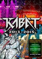 Kabát: Kabát 2013-2015 (3DVD+CD) - DVD+CD