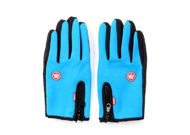 Symfony Unisex dotykové rukavice XL, sportovní modré