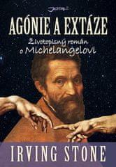 Agónie a extáze - Životopisný román o Michelangelovi