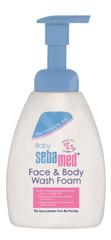 Sebamed Dětská mycí pěna na obličej a tělo 400ml