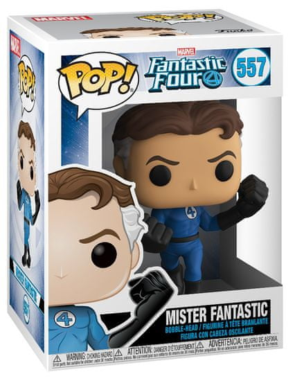 Funko POP! Fantastic Four figurica, Mister Fantastic #557