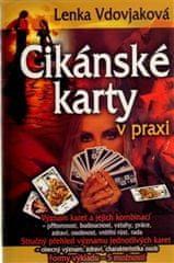 Lenka Vdovjaková: Cikánské karty v praxi - Kniha + 36 karet