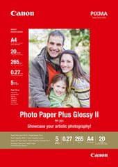 Canon fotopapier PP-201, A4, 265g/m2, 20 listov