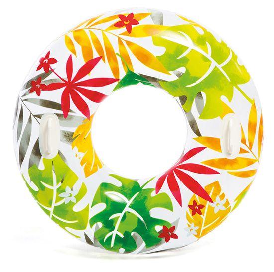 Intex 58263 Kruh na vodu 97 cm farebné listy