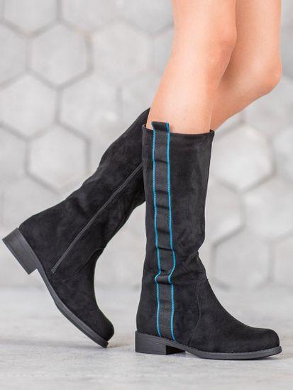 Női csizma 61484 + Nőin zokni Gatta Calzino Strech